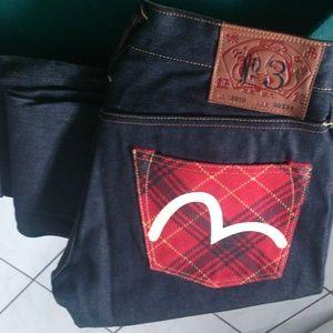 Evisu selvage jeans